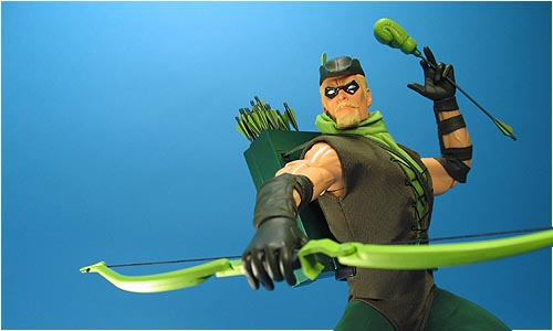 COOL TOY REVIEW PHOTO ARCHIVE DC Direct 13 Green Arrow