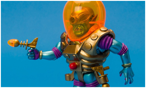 Cool toy review cyclops outer space men by four horsemen for Outer space studios