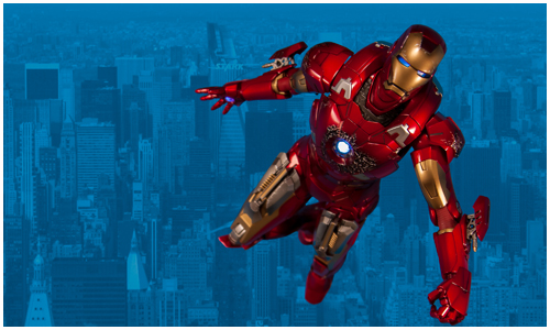Coolest Man Toys : Cool toy review iron man mark vii avengers movie