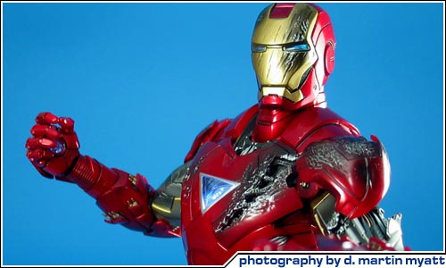 Coolest Man Toys : Cool toy review hot toys iron man mark vi scale figure